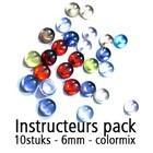 Instructeurs Pack - 10 stuks - Kleurmix - 6mm