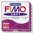 FIMO Fimo soft 61 - Violet purper - 56 gram
