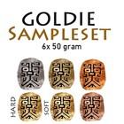 Goldie Clay Sampleset (6x 50gr)