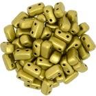 Bricks - 3/6mm - Matte Metallic Aztec Gold