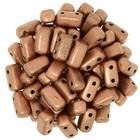 Bricks - 3/6mm - Matte Metallic Copper