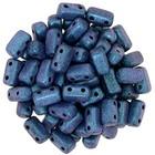 Bricks - 3/6mm - Polychrome - Indigo Orchid