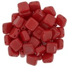 Tiles - 6mm - Opaque Red