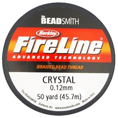 Fireline - 50yards - Crystal - 0.12mm