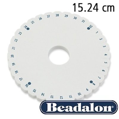Beadalon Kumihimo ronde schijf - 15.24 cm