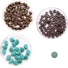 Halsketting PIP beads - Jade/Bruin
