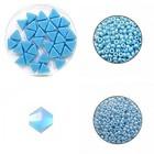 Ketting Triangolo - Lichtblauw