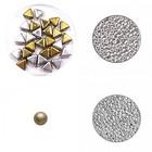 Ketting Triangolo - Zilver / Goudkleurig