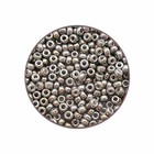Rocailles Miyuki 11/0 - Grijs Fumé Opaque Lustré - N°1865 - 15gr