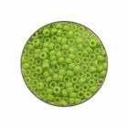 Rocailles Miyuki 11/0 - Appelgroen Opaque - N°416 - 15gr