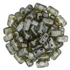 Bricks - 3/6mm - Luster - Transparant Green
