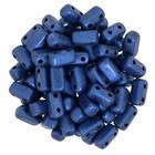 Bricks - 3/6mm - Metallic Suede - Blue