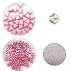 Circulo Armband - Roze/Crystal