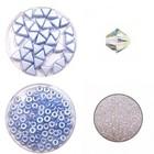 Circulo Armband - Licht blauw/Crystal