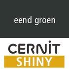 Cernit SHINY Eend groen - 56 gram