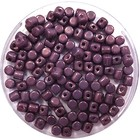 Minos® - Opaque Mix Amethyst/Gold Ceramic Look - 2.5x3mm