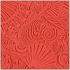 Soepele textuurmat - 90x90mm - Shells