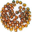 Facetkraal - Donker bruin - Glas (h231) - 4mm
