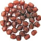 Facetkraal - Indian red g3a - Resin - 5mm