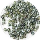 Facetkraal - Middel groen flam - Glas d24 - 3mm
