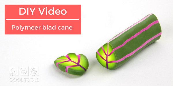 DIY video: blad cane in polymeerklei