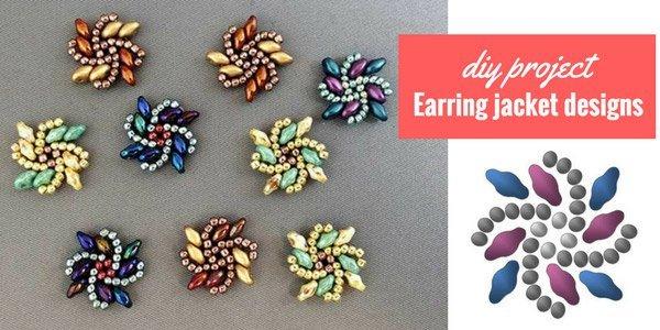 DIY project: earring jacket designs