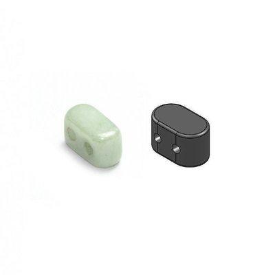 Ios Par Puca - Glas - Opaque Light Green Ceramic Look