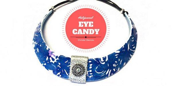 Eye Candy: Halsjuweel in polymeerklei