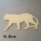 Figuur In Hout - Luipaard - 8cm