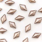 Gemduo - 8x5mm - Pastel Light Brown