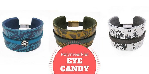 Eye Candy: Armband in mixed media