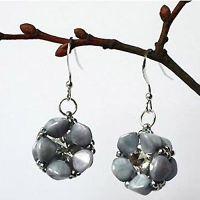Exclusief Schema - Pinch blossom earrings