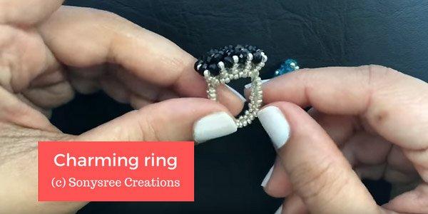 DIY video : Charming ring