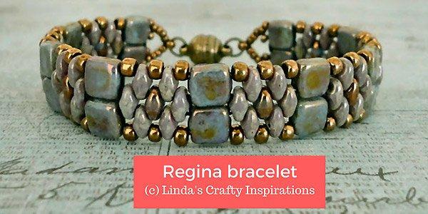 DIY tutorial : Regina armband