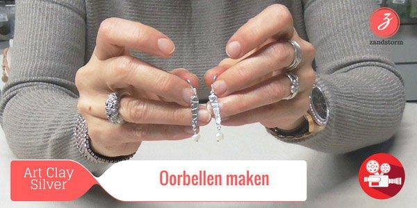 ZandstormTV : Introductie Art Clay Silver - Oorbellen maken