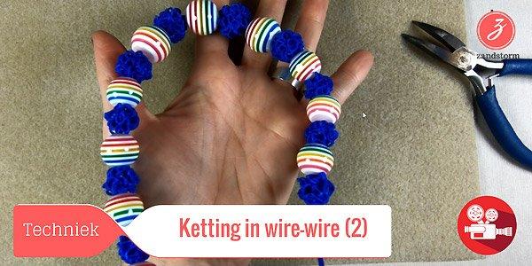 ZandstormTV : Wire-wire halsketting (deel 2)