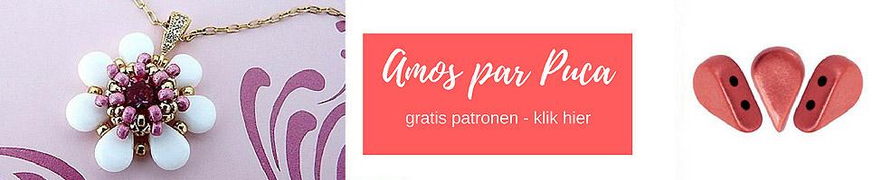 Amos par Puica, les perles par Puca, beads by Puca
