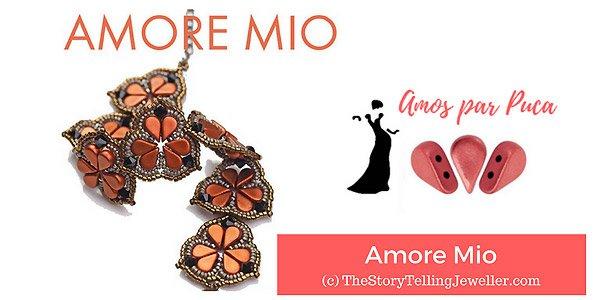 DIY patroon: Amore Mio met Amos par Puca kralen