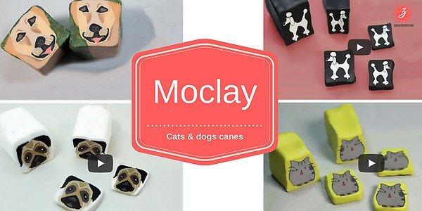 DIY videos: cats & dogs in polymeerklei