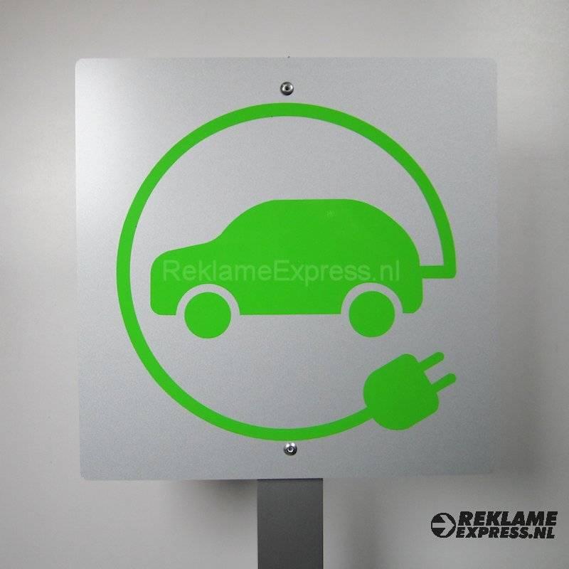 Opladen Electrische Auto Opladen Electrische Autos Oplaadpunt Bord