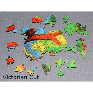 Fotopuzzle mit viktorianischem Schnitt 1250 Teile 64cmx45cm Preis: 158,00eur