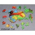 Fotopuzzle mit viktorianischem Schnitt 1000 Teile 54x38cm Preis: 138,00eur