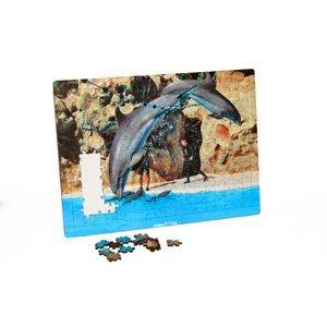 Fotopuzzle mit Einlegerahmen 24x33cm