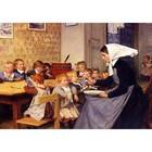 Albert Anker - Kindergarten 1890