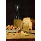 Albert Anker - Stilleben mit Wein