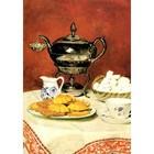 Albert Anker - Stilleben Tee mit Schmelzbrötchen