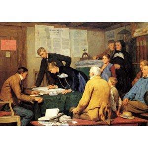 Albert Anker - Ziviltrauung 1887