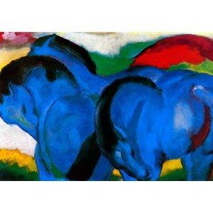 Franz Marc - Die Kleinen Blauen Pferde