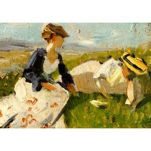 Franz Marc - zwei Frauen am Berg