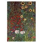 Gustav Klimt - Garten mit Sonnenblumen auf dem Lande